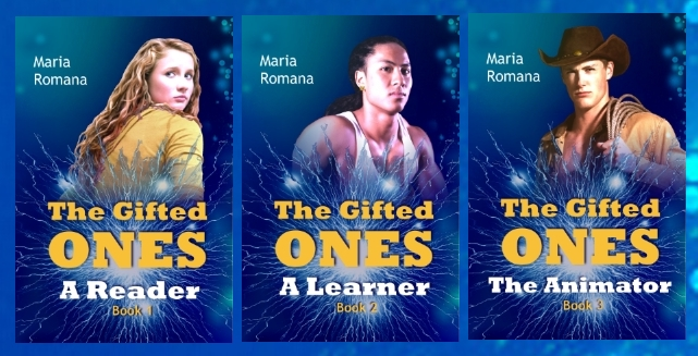 Gifted Ones Series Covers